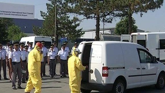 Scanner de substante radioactive instalat la aeroportul Otopeni!