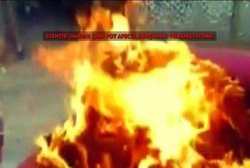 Zeci de incendii inexplicabile le-au bagat spaima in suflet localnicilor dintr-un satuc