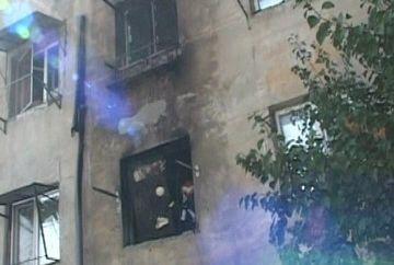 Cinci persoane, printre care si un bebelus, au ajuns de urgenta la spital in urma unei explozii