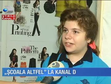"""""""Scoala altfel"""" la Kanal D! Zeci de copii au vizitat platourile de filmare ale televiziunii"""