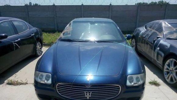 ANAF scoate la licitatie mai multe autoturisme de lux confiscate. Preturile sunt incredibile! Uite cat costa acest Maserati Quatroporte, la inceput multi au crezut ca e o greseala!