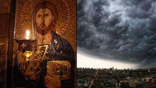 Vin furtuni peste toata Romania! RUGACIUNE ajutatoare la vreme de vijelie, trasnete, fulgere, grindina sau cutremur