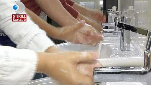 Spalatul pe maini, cel mai EFICIENT MIJLOC de preventie a bolilor VIDEO