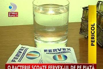 O BACTERIE PERICULOASA a scos medicamentul Fervex de pe piata! VIDEO