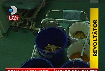 STRIGATOR LA CER! Bolnavii internati in spitale hraniti mai rau decat animalele VIDEO