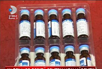 Ministerul Sanatatii a decis scoaterea de pe piata a vaccinului periculos VIDEO