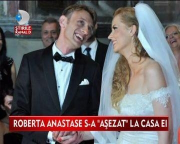 Roberta Anastase, EMOTII MARI in ziua nuntii VIDEO