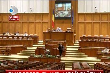 DEZINTERES TOTAL! Alesii din Parlament NU VIN la sedinte si la dezbaterile politice. Salile sunt MEREU GOALE VIDEO