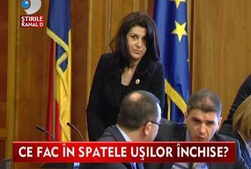 Sedinta de partid cu URLETE SI TIPETE la Camera Deputatilor VIDEO
