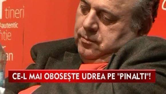 "Ce-l mai oboseste Udrea pe ""Pinalti""! Gheorghe Stefan A ADORMIT in scaun la discursul ei VIDEO"