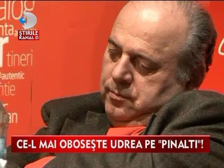 Ce-l mai oboseste Udrea pe Pinalti! Gheorghe Stefan A ADORMIT in scaun la discursul ei VIDEO