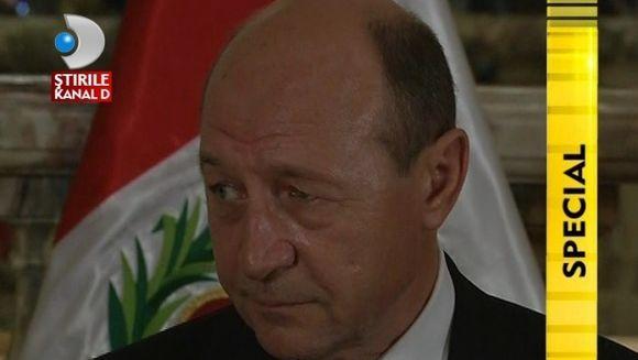 Traian Basescu, VIZITA OFICIALA in Peru, tara constrastelor VIDEO