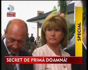 SECRETE DE PRIMA DOAMNA. Cine se afla in spatele celor mai puternici oameni din Stat? VIDEO