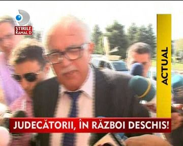 STIREA ZILEI: Judecatoarea Aspazia Cojocaru vrea sa il dea in judecata pe Ion Predescu VIDEO