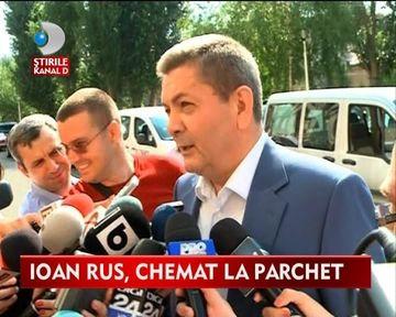Ioan Rus, fostul ministru al Administratiei si Internelor, anchetat de Parchet VIDEO