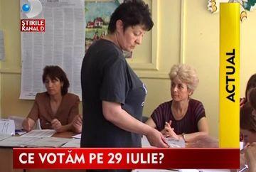 STIREA ZILEI: Afla tot ce trebuie sa stii despre Referendum! VIDEO