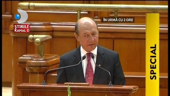 STIREA ZILEI: S-a modificat legea referendumului! Traian Basescu ar putea fi suspendat mai usor VIDEO
