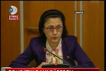 Traian Basescu ii cere Ecaterinei Andronescu sa garanteze ca nu a plagiat teza de doctorat VIDEO
