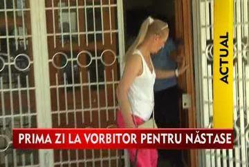 Dana Nastase, deranjata de prezenta jurnalistilor la penitenciarul Rahova VIDEO