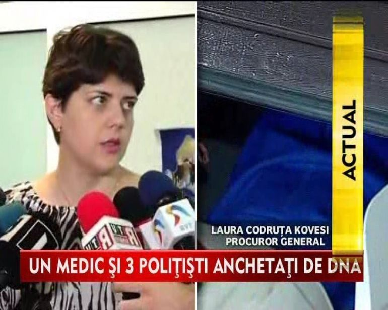 Un medic si trei politisti anchetati de DNA in cazul Adrian Nastase! VIDEO