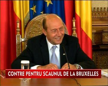 "Contre intre Presedintele Traian Basescu si Victor Ponta: ""Nu este o simpla plimbare la Bruxelles"" VIDEO"