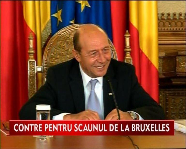 Presedintele Traian Basescu: Nu este o simpla plimbare la Bruxelles VIDEO