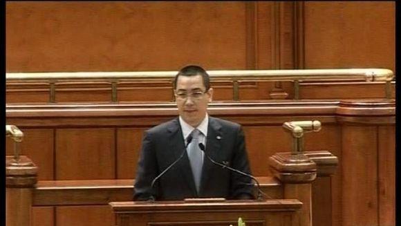 Razboi intre presedintele Traian Basescu si Victor Ponta pe scaunul Romaniei la Consiliul European VIDEO