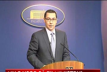Victor Ponta cauta ministru pentru Educatie! Ioan Mang si-a dat demisia VIDEO