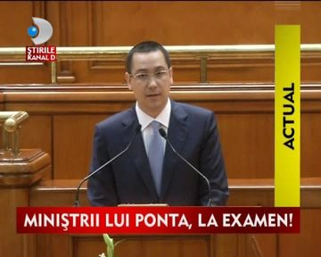 Cabinetul Ponta a obtinut votul de investitura! VIDEO