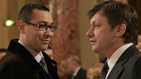 Victor Ponta si Crin Antonescu au stabilit impreuna noul guvern
