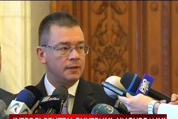 Guvernul Ungureanu a fost investit legal! VIDEO