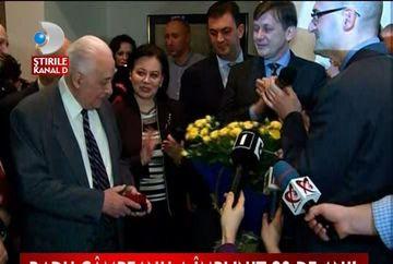 Radu Campeanu a implinit 90 de ani VIDEO