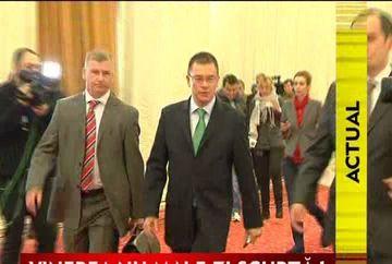 Premierul Mihai Razvan Ungureanu a anuntat noul program de munca al bugetarilor VIDEO