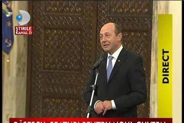 STIREA ZILEI: Cabinetul M.R. Ungureanu a depus juramantul. Presedintele a avut cateva sfaturi pentru noul Guvern VIDEO