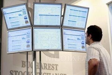 Bursa de la Bucuresti, in scadere cu 0,77% dupa anuntul lui Boc privind depunerea mandatului