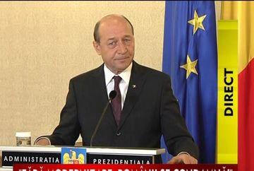 "STIREA ZILEI: Traian Basescu: ""Presedintii nu demisioneaza in perioada de criza"". Comenteaza AICI!"