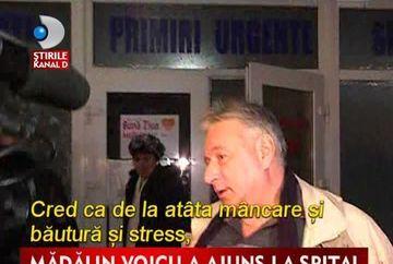 Madalin Voicu a ajuns la spital VIDEO