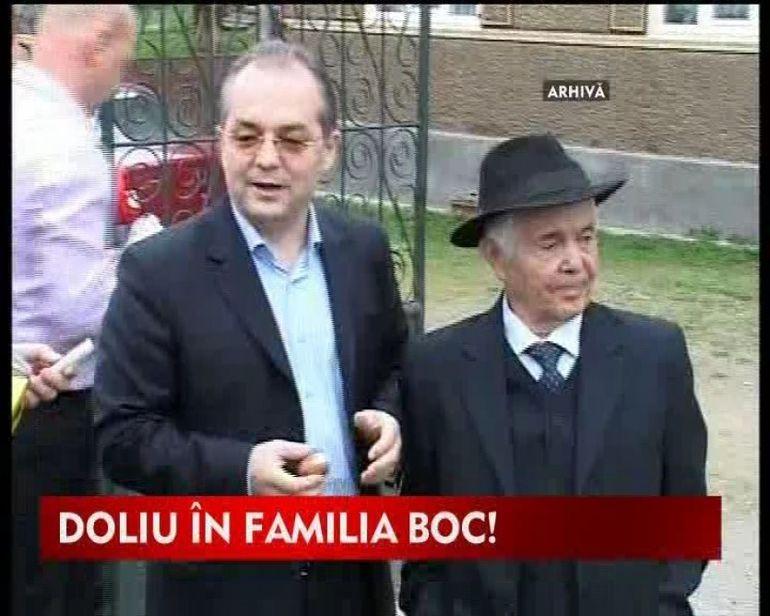 Premierul Emil Boc, in doliu! Tatal politicianului a murit in urma unui accident cerebral VIDEO