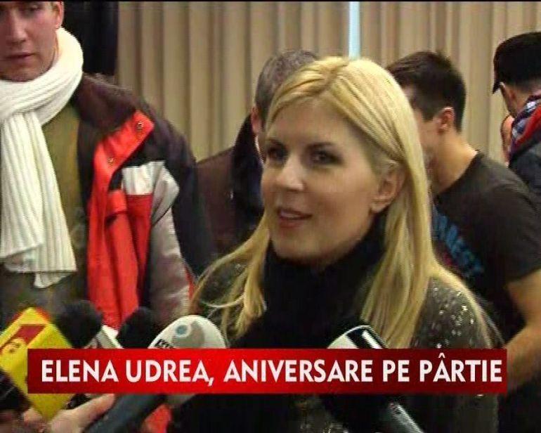 Elena Udrea n-are liniste nici de ziua ei. Iata cum si-a petrecut aniversarea!VIDEO