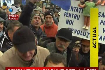 Revolutionari dezamagiti, comemorarea, prilej de scandal VIDEO