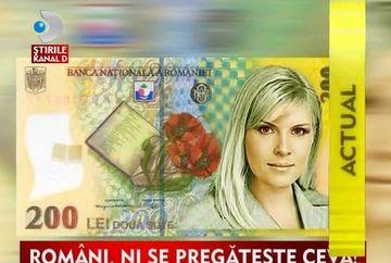 Elena Udrea va aparea pe bancnote de 200 lei? Romani, fiti atenti, vi se pregateste ceva! VIDEO