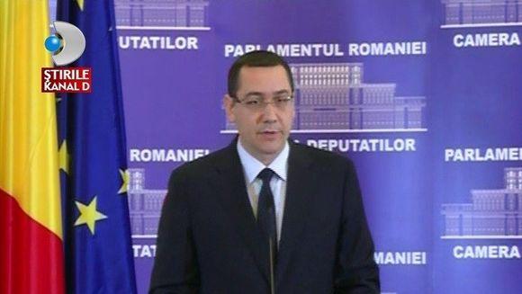 Noul GUVERN PONTA asteapta votul Parlamentului!