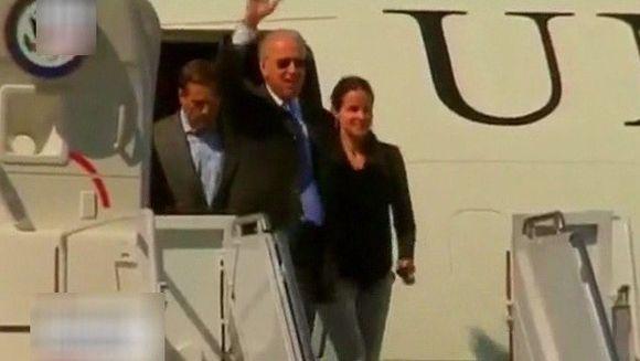 Vicepresedintele american Joe Biden a ajuns la Bucuresti