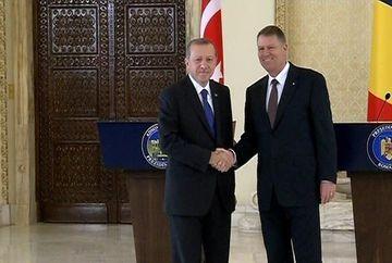 Desfasurare impresionanta de forte la Bucuresti: Presedintele Turciei, Recep Tayyp Erdogan, s-a intalnit cu presedintele Klaus Iohannis!