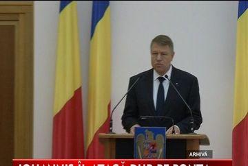 Schimb dur de replici intre presedintele Romaniei, Klaus Iohannis si premierul Victor Ponta!