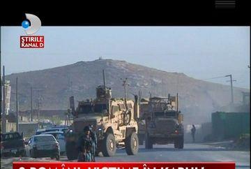 Un roman a murit, iar altul a fost ranit intr-un atentat cu masina capcana la Kabul! VIDEO