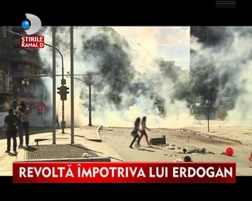 TURCIA FIERBE! A cincea zi consecutiv de proteste soldata cu victime in randul manifestantilor VIDEO