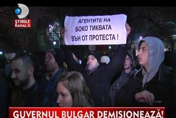 LOVITURA DE GRATIE! Guvernul bulgar A DEMISIONAT ca urmare a manifestatiilor VIDEO