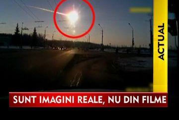 IMAGINI CUTREMURATOARE! Rafalele de meteoriti au ranit sute de oameni in Rusia VIDEO