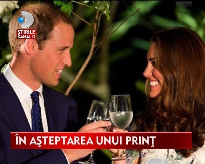 Bebelusul Printului William si al Ducesei Kate Middleton SCHIMBA REGULAMENTUL Casei Regale VIDEO